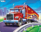 Puzzle MAXI - Americký truck - kamion/25 dílků