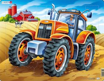 Puzzle MAXI - Americký traktor/37 dílků