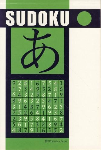 Sudoku (zelená) - Fortuna Print