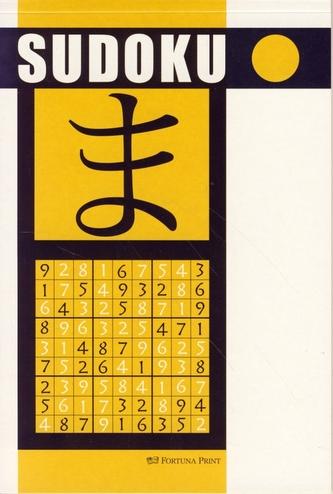 Sudoku (žltá) - Fortuna Print