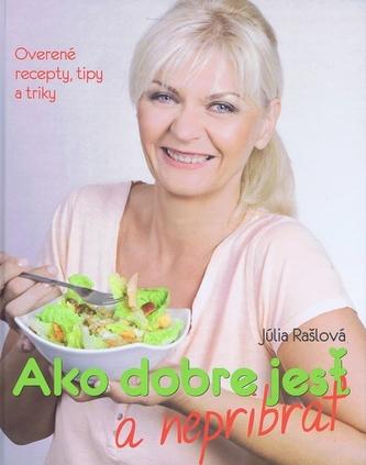 Ako dobre jesť a nepribrať - Rašlová Júlia