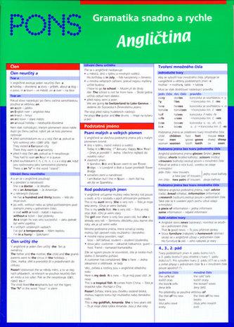 Gramatika snadno a rychle  - Angličtina