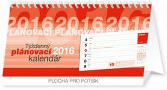 Týždenný plánovací kalendár - stolní kalendář 2016
