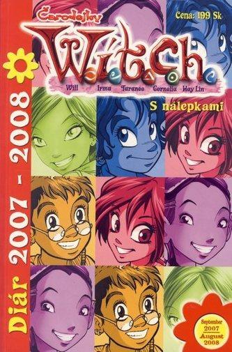 W.i.t.c.h. - Diár 2007 - 2008 - s nálepkami
