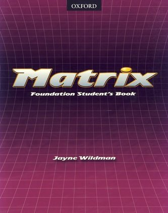 Matrix - Foundation Student´s Book