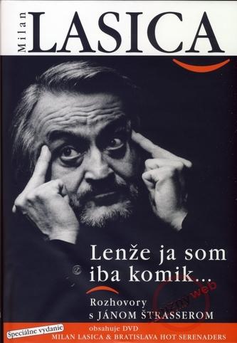 Milan Lasica - Lenže ja som iba komik + DVD