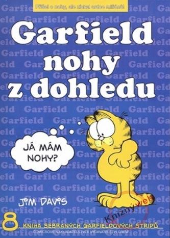 Garfield - nohy z dohledu (č.8)