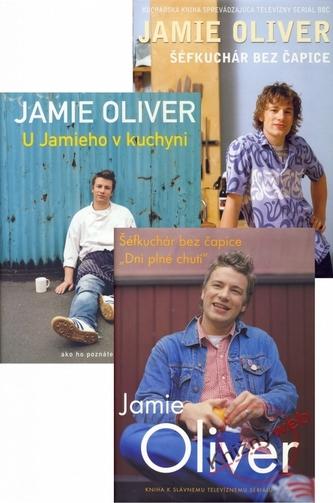 KOMPLET-Jamie Oliver 1+2+3
