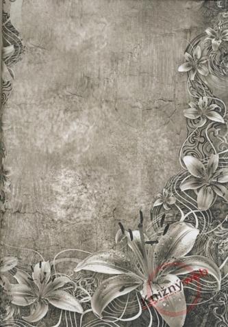 Zápisník - C - Floral Art