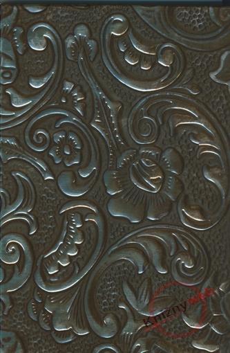Zápisník - E - Metallic Ornament