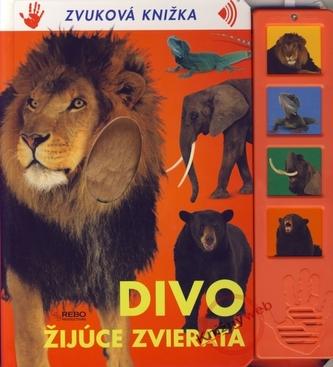 Divo žijúce zvieratá - Zvuková knižka