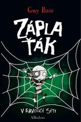 Záplaťák v pavoučí síti