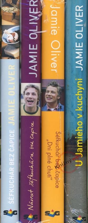 KOMPLET-Jamie Oliver 1+2+3+4