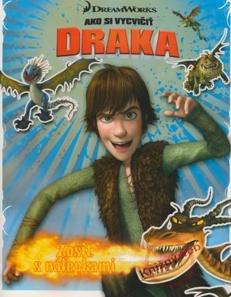 Ako si vycvičiť draka - zošit s nálepkami