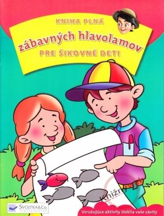 Kniha plná zábavných hlavolamov pre šikovné deti
