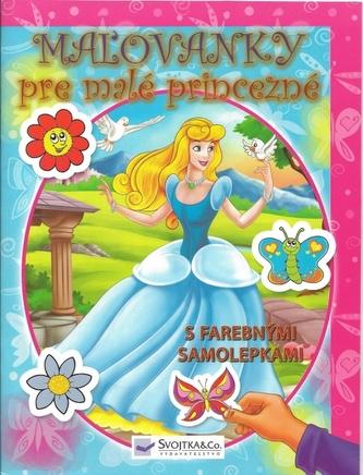 Maľovánky pre malé princezné