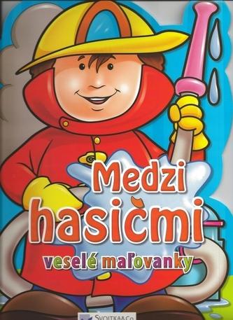 Medzi hasičmi - veselé maľovanky