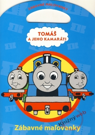 Tomáš a jeho kamaráti - Zábavné maľovanky