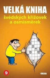 Velká kniha švédských křížovek a osmisměrek 9