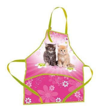 Zástěrka na výtvarnou výchovu - Cats