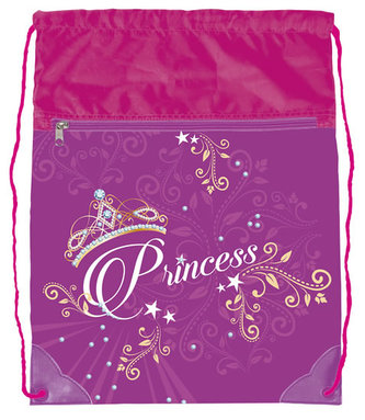 Sáček na cvičky - Princess