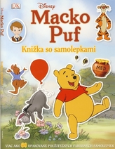 Macko Puf - Knižka so samolepkami