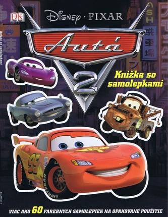 Auta 2.- Kniha so samolepkami  - Autá Pixar