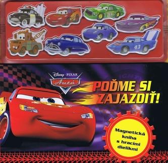 Autá 2 - Poďme si zajazdiť - Magnetická  kniha s hracími dielikmi