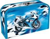 Kufřík papírový - Blue Bike