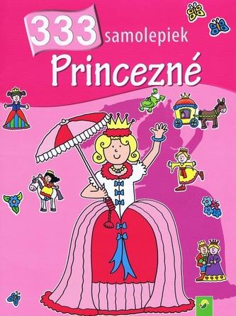 333 samolepiek - Princezné