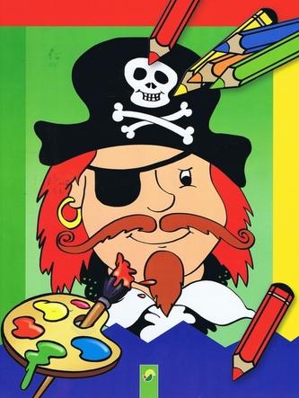 Omaľovánky - Pirát