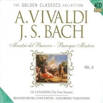 Vivaldi, Bach Baroque Masters 4CD