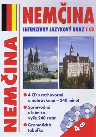 Nemčina - intenzívny jazykový kurz s CD