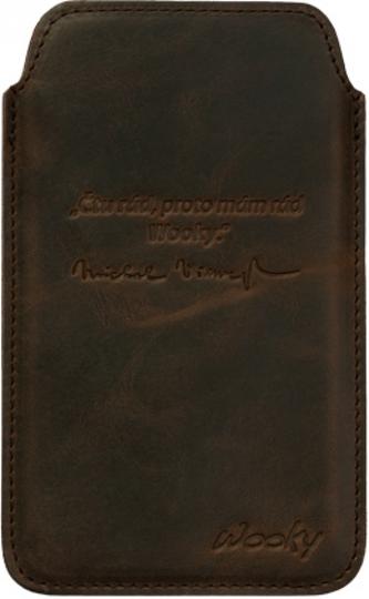 Puzdro 9,5x16 Viewegh hnedá koža natur Samsung Galaxy Note