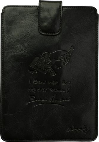 Puzdro 17x24 Nesvadbová čierna koža s prackou  Samsung Galaxy Tab 8.9
