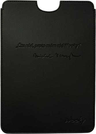 Puzdro 17x24 Viewegh čierna umelá koža Wooky tablet 2.0