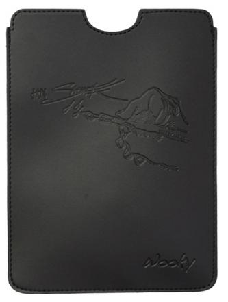 Puzdro 15x21,5 Saudek čierna umelá koža Wooky tablet reader