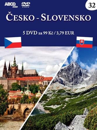 Česko-Slovensko - 5 DVD - neuveden