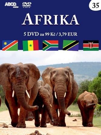 Afrika - 5 DVD - neuveden
