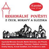 Regionální pověsti z Čech, Moravy a Slezska - CDmp3