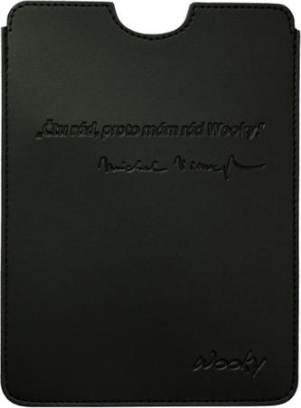 Puzdro 15x21,5 Viewegh čierna umelá koža Wooky tablet reader