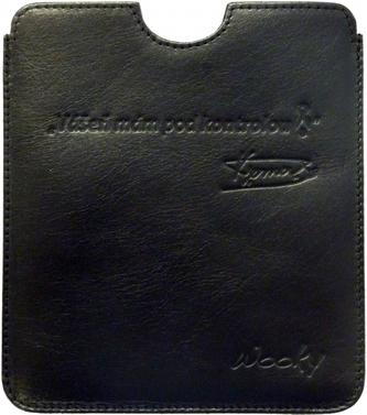 Puzdro 16,8x14,7 Verner čierna koža eWooky