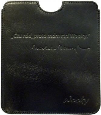 Puzdro 16,8x14,7 Viewegh čierna koža eWooky