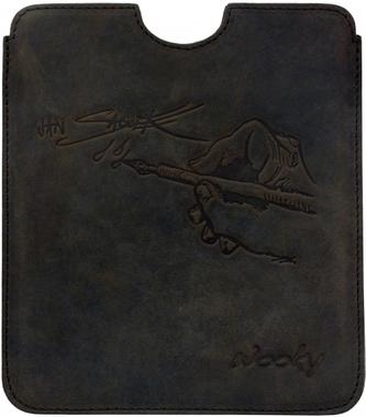 Puzdro 16,8x14,7 Saudek hnedá koža natur eWooky