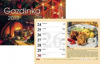 K - Gazdinka - 2013 - nástenný N050