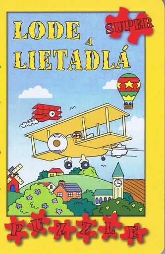 Lode a lietadlá - žlté