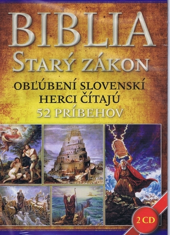 Biblia Starý zákon 2 CD