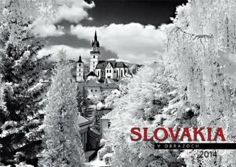 K - Slovakia infra 2014 - nástenný N 53 ( Spektrum Grafik )