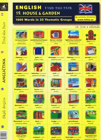 English - Find the Pair 19. (House & Garden)