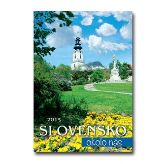 K-Slovensko okolo nás 2015 nástenný N54